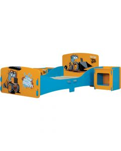 Kidsaw JCB Toddler Room in a Box - Right Side