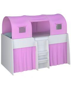 Kidsaw Tent 3 Parts Pink - Left Side