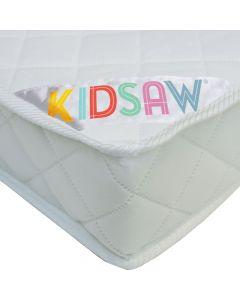 Kidsaw Deluxe Sprung Junior Toddler Mattress - Material View