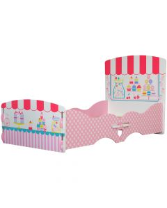 Kidsaw Patisserie Junior Toddler Bed - Right Side