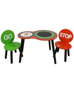 Kidsaw Racing Car Table and Chairs - Top View