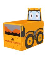 Kidsaw JCB Muddy Friends Toybox - Right Side