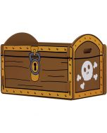 Kidsaw Pirate Treasure Chest Toy Box - Right Side
