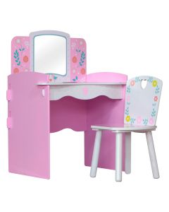 Kidsaw, Country Cottage Dressing Table - Front Side View