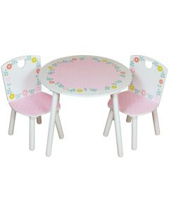 Kidsaw Country Cottage Table and Chairs - Top View