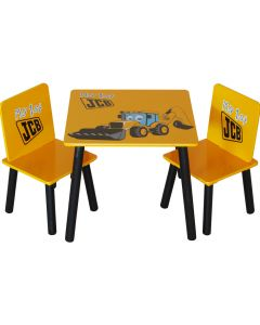 Kidsaw JCB Muddy Friends Table & Chairs - Top View
