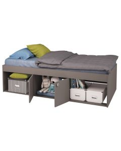Kidsaw, Low Single 3ft Cabin Bed Grey - Cut Out
