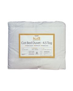 Kudl Kids, Cotbed Duvet 4.5 Tog - Packaged