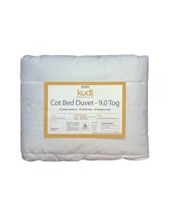 Kudl Kids, Cotbed Duvet 9.0 Tog - Packaged