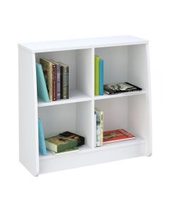 Kidsaw Loft Station Bookcase White - Front