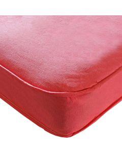 Kidsaw Colour Single Sprung Mattress Pink - Material View