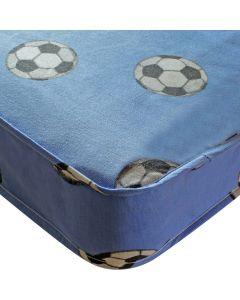 Kidsaw Football Single 3ft Mattress Blue - Material View