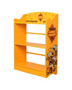 Kidsaw JCB Muddy Friends Bookcase - Right Side