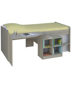 Kidsaw Pilot Single 3ft Cabin Bed Elm - Left Side