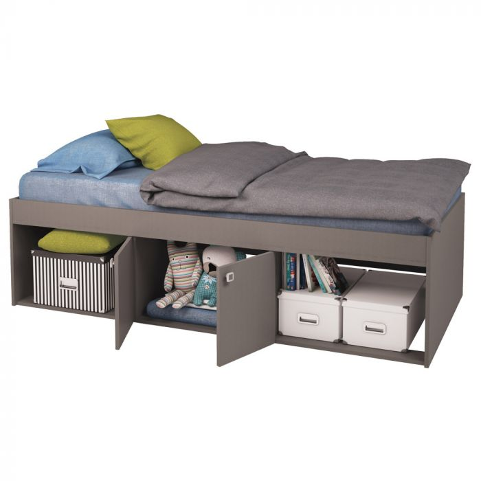 competitive price 41ab9 5ea97 Kidsaw, Low Single 3ft Cabin Bed - Grey