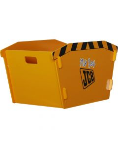 Kidsaw JCB Skip Storage Box - Front Right Side