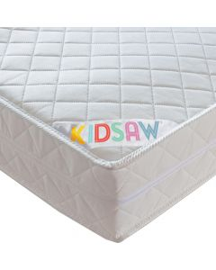 Kidsaw Deluxe Sprung Single Mattress - Material View