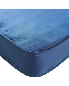 Kidsaw Colour Single Sprung Mattress Blue - Material View