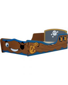 Kidsaw Pirate Junior Toddler Bed - Right Side