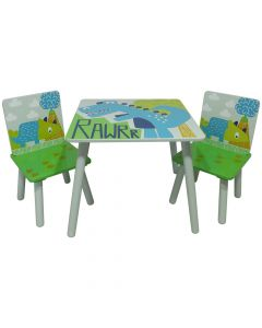 Kidsaw RAWRR Table & Chairs - Top View