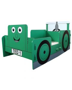 Kidsaw Tractor Ted Junior Toddler Bed - Right Side